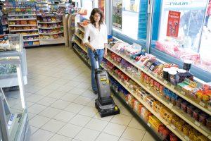Reinigung im Einzelhandel